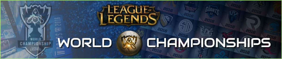 League of Legends World Championship esports bets